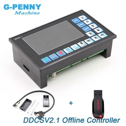 Nuovo Arrivo! DDCSV2.1 Non In Linea di Supporto del Controller 3 assi/4 assi CNC controller USB interfaccia del Router di CNC di Fresatura Per Incidere macchina