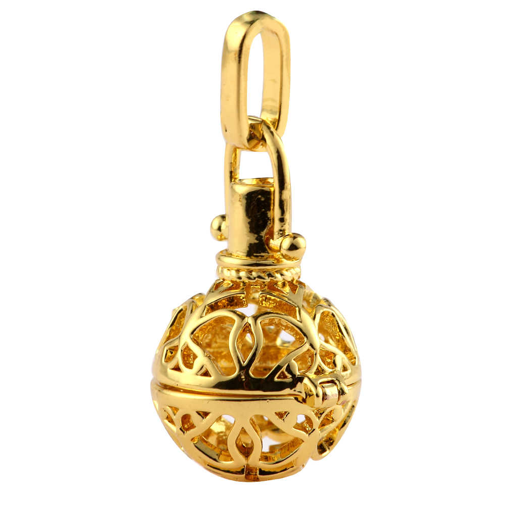1pcs Hollow CAGE Filigree Ball กล่องน้ำมันหอมระเหย Diffuser Locket จี้ Dreamcatcher DIY สร้อยคอเครื่องประดับน้ำหอมเครื่องประดับ