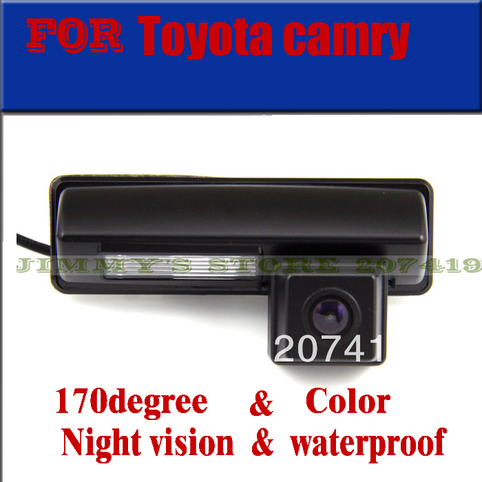 imágenes para Color de la cámara trasera del coche para Toyota camry Euro ECHO verso Picnic Yaris Harrier Altezza Es Rs 200 300 aparcamiento Ipsum cámara