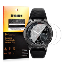 Gear S3 Classic Glass Screen Protector SUNDATOM Tempered Glass for Samsung Gear