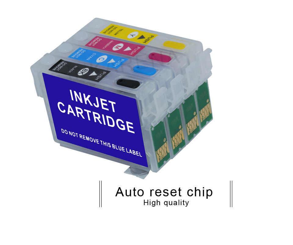 T1291 Kartrid Tinta isi ulang untuk EPSON B42WD SX230W SX425W SX435W SX438 SX435W SX445W SX525WD SX535WD Printer Cartridge