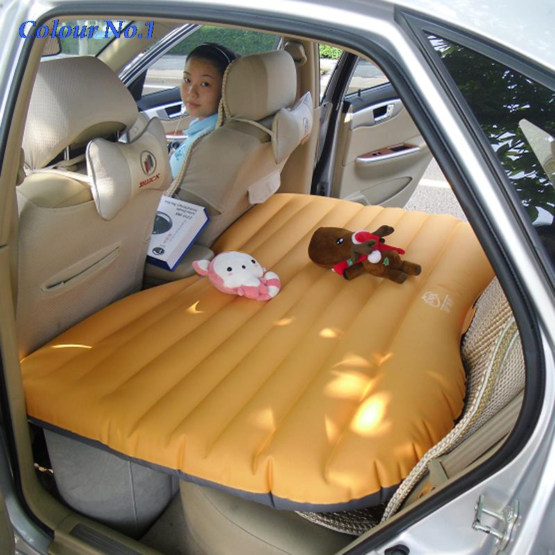 Car Back Seat Cover Car Air Mattress Travel Bed Inflatable Mattress Air Bed Good Quality Inflatable Car Bed For Camping car inflatable mattress car shock bed on board flocking inflatable bed separate type air cushion bed car split car bed
