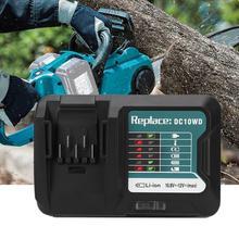 Carregador de bateria de lítio de carregamento rápido, adequado para makita bl1016 12v dc10wd 100 260v eu plug de carregador de bateria adaptador, adaptador