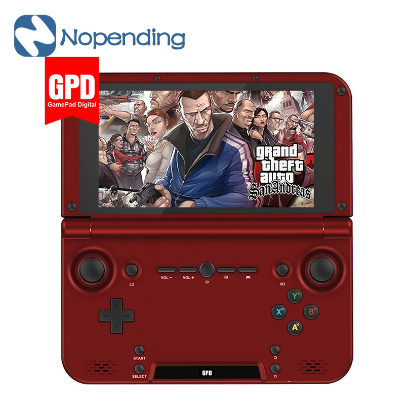 NEW GPD XD 5 Inch Android4.4 Gamepad Tablet PC 2GB/64GB RK3288 Quad Core 1.8GHz Handled Game Console 1280*768 Game Player RED