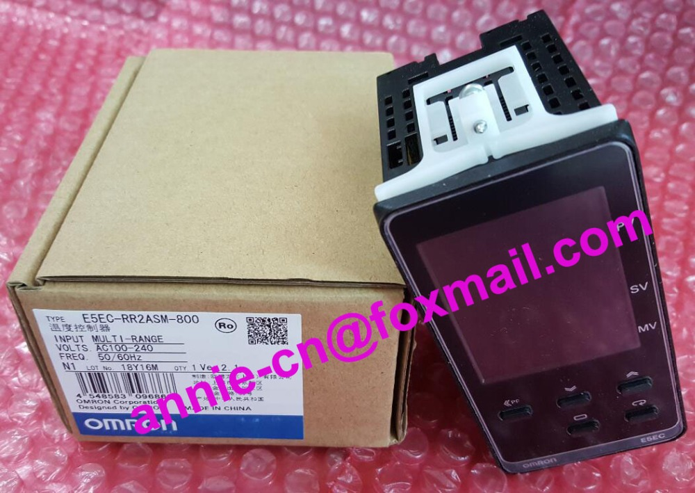 ФОТО OMRON  E5EC-RR2ASM-800  New and original   Temperature controller  AC100-240 50/60Hz