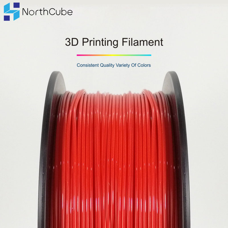 3D Printing Filament TPU Flexible Filament TPU filament Plastic for3D Printer 1 75mm 1KG Printing Materials Gray Black Red Color in 3D Printing Materials from Computer Office