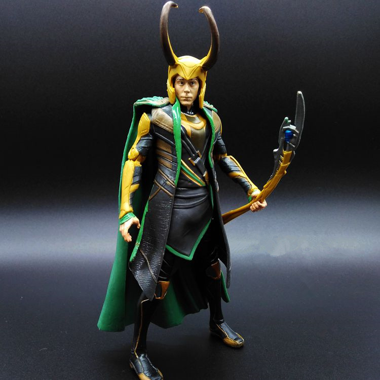 Hot Toy 16cm Avengers 2: Thor - Loki Villain Heros Action Figure Collectible PVC Model Toy Movable Joints Doll for Kids Gifts