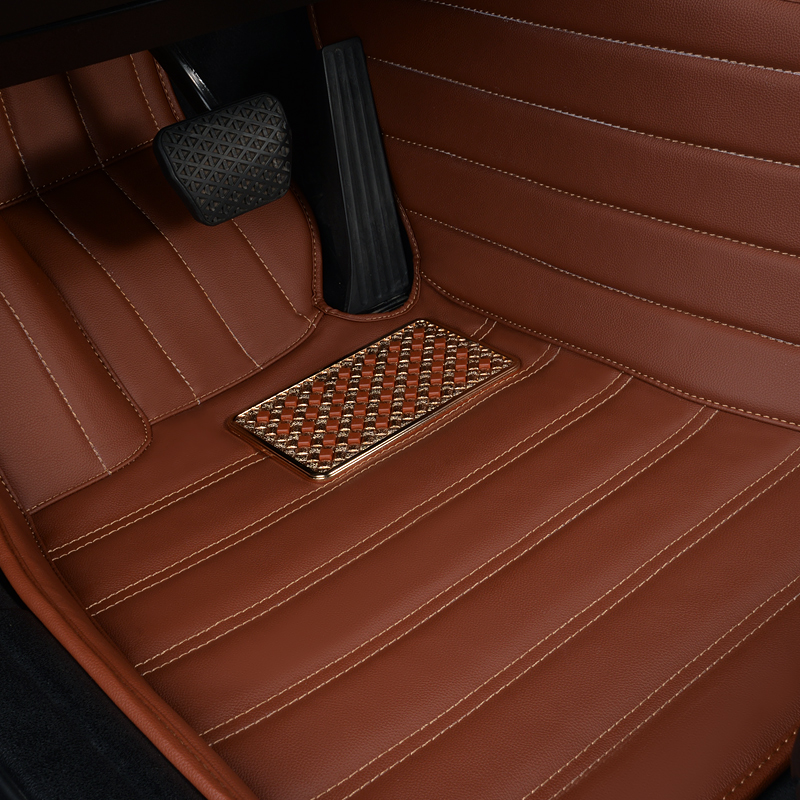 genuine leather full surrounded car floor mats for LandRoveAurorafound 3found42RangeRoverSport administrative version