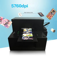Small uv flatbed printer for tpu phone case prints case 110 220V Fully automatic integrated A4UV flatbed printer 5760 * 2880DPI