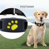 Dog GPS Tracker Waterproof Smart Anti-fall Pet Locator Mini Dog Cat Positioner Reminder Wireless Intelligent Tracking Device