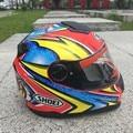 Motocross SHOEI  Full Face motorcycle off road helmet dual visor motor knight riding dirt bike helmets  free shipping