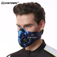 XINTOWN Cycling Mask Anti-Pollution Mouth-Muffle Dust Mask Dustproof Bicycle Sports Road Cycling Mask Face Cover