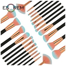ESOREM Makeup Brushes Set 12 Pcs Cosmetic Tools Professional Eyeshadow Brush Soft Foundation Brush Makeup Pincel Maquiagem 5495 15pcs professional makeup brushes bag cosmetic makeup brush brushes set tools foundation powder eyeshadow maquiagem new brand