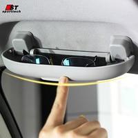 Car Styling Sunglass Case For Toyota RAV4 Sunglass Case Box Holder Sunglasses Visor Clip For Toyota