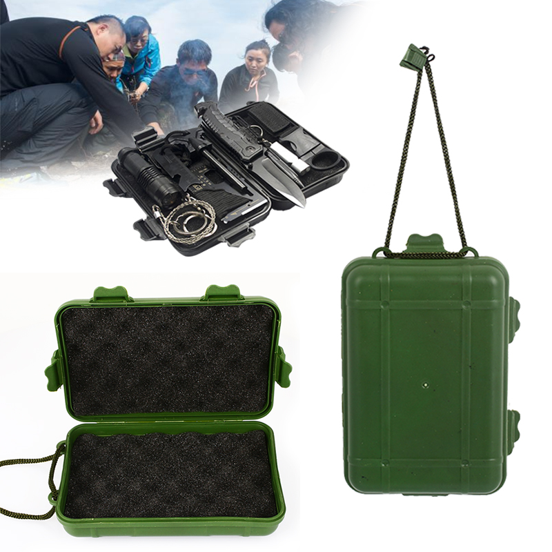 Ударопрочный походный набор инструментов для выживания на открытом воздухе прочный Набор инструментов для выживания на открытом воздухе