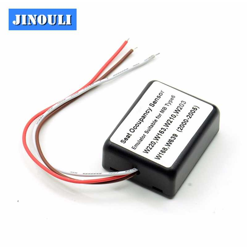 Seat Occupancy Occupation Sensor SRS Emulator for mercedes Type 6 support  W220, W163, W210, W203, W168, W639 and even more