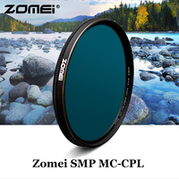 Zomei SMP MC CPL Filter PL CIR Polarizing Multi Coating CPL Filter for Camera 52mm 55mm 58mm 62mm 65mm 67mm 72mm 77mm 82mm lens