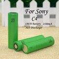 25 pcs .. New original US18650VTC4 18650 2100 mAh 3.6 V bateria de lítio de carregamento de veículos eléctricos cigarros eletrônicos