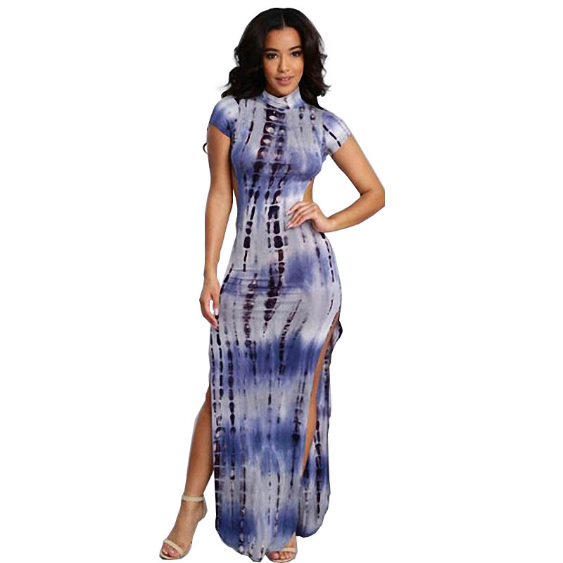 xl backless dress up casual dress fashionable dress for chubby woman 2016