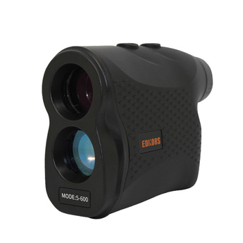 600M Distance Meter Laser Range Finder 6X Telescope Speed Tester Altimetry Angle Measurement Pole for Outdoor Hunting Golf