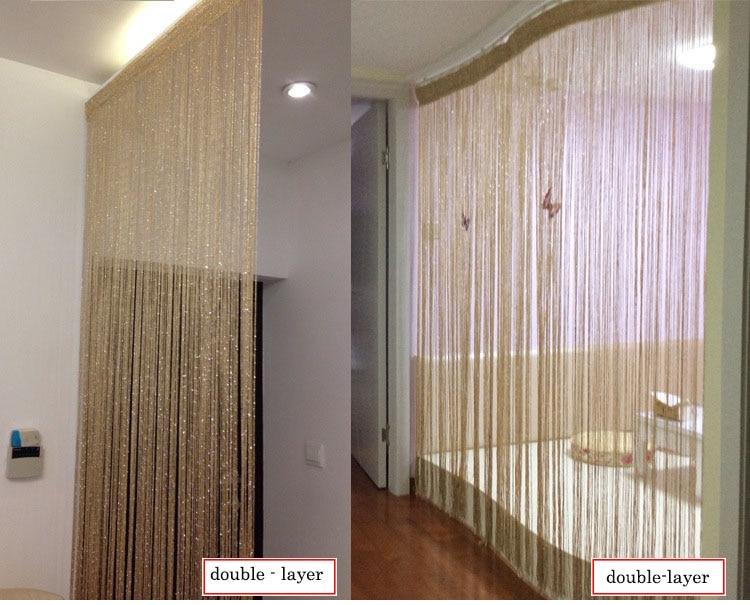 W3mH3m Home Decor Solid Silver Silk Folding Screen Room Divider