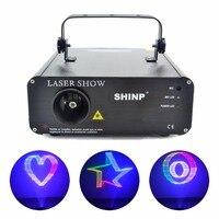 12CH DMX Animação SHINP RGB 3D 512 Projetor Show de Luzes de Laser Scanner DJ Party KTV Discoteca Iluminação de Palco AL-460RGB (3D)