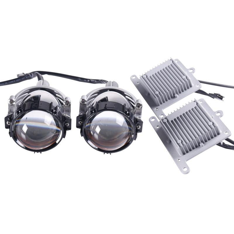 Sanvi 2.5 '' 35 W 5500 K Bi LED Projektör Lens Far Merhaba Düşük - Araba Farları - Fotoğraf 1