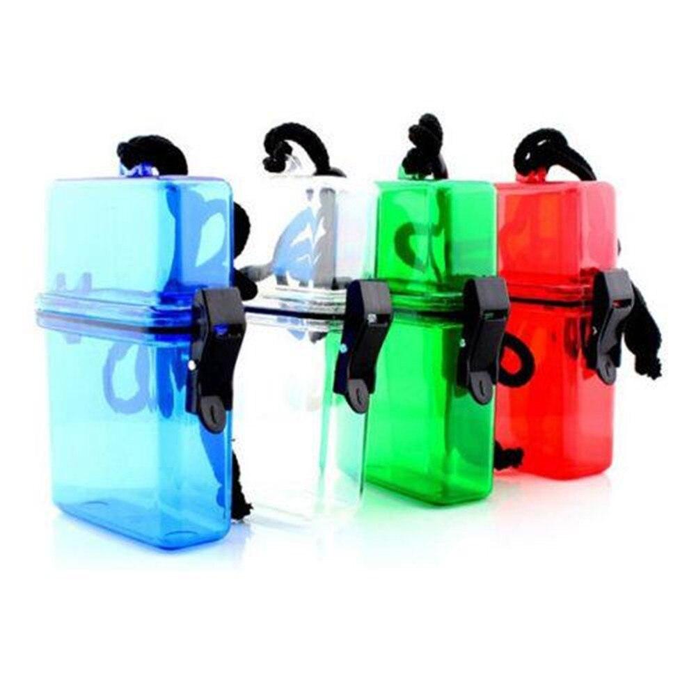 Al aire libre de Natación Impermeable De Plástico Contenedor De Almacenamiento C
