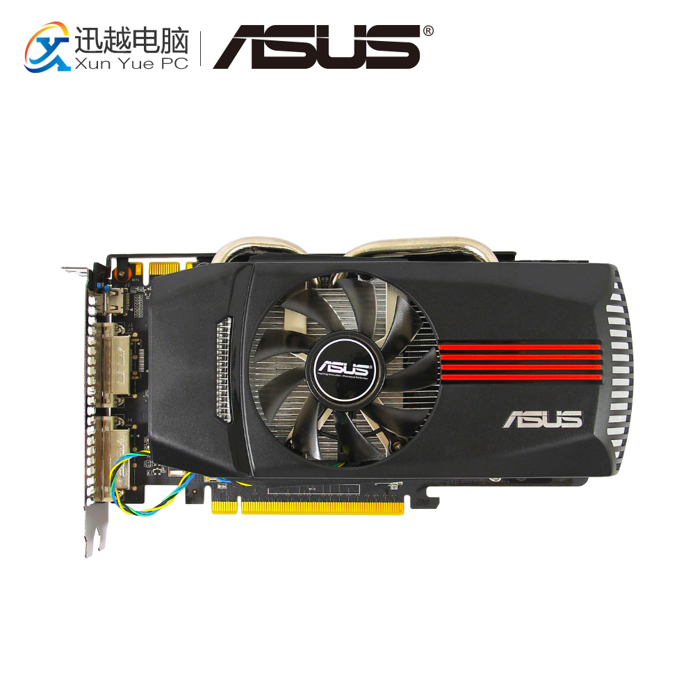 ASUS ENGTX560 SE DC TOP/2DI/1GD5 Original Graphics Cards 192 Bit GTX 560 Ti GDDR5 Video Card 2*DVI Mini HDMI For Nvidia GTX560Ti