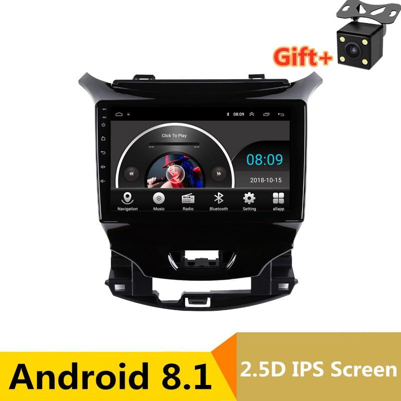 9 pouces Android lecteur DVD de voiture GPS pour Chevrolet Cruze 2015 2016 2017 2018 audio voiture radio stéréo navigation avec bluetooth wifi