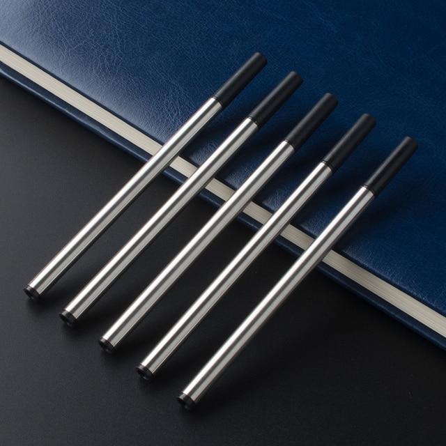 6Pcs / Lot Jinhao Baoer Hero roller ball Pen Refills ballpoint rollerball pen refill for Writing factory Wholesale 1