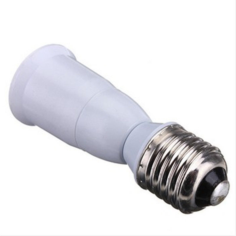E27 to E27 Lamp Socket Base Extension Base CLF LED Light Bulb Lamp Adapter Socket Converter Lamp Holder Converter Bulb lighting new rf 315 e27 led lamp base bulb holder e27 screw timer switch remote control light lamp bulb holder for smart home