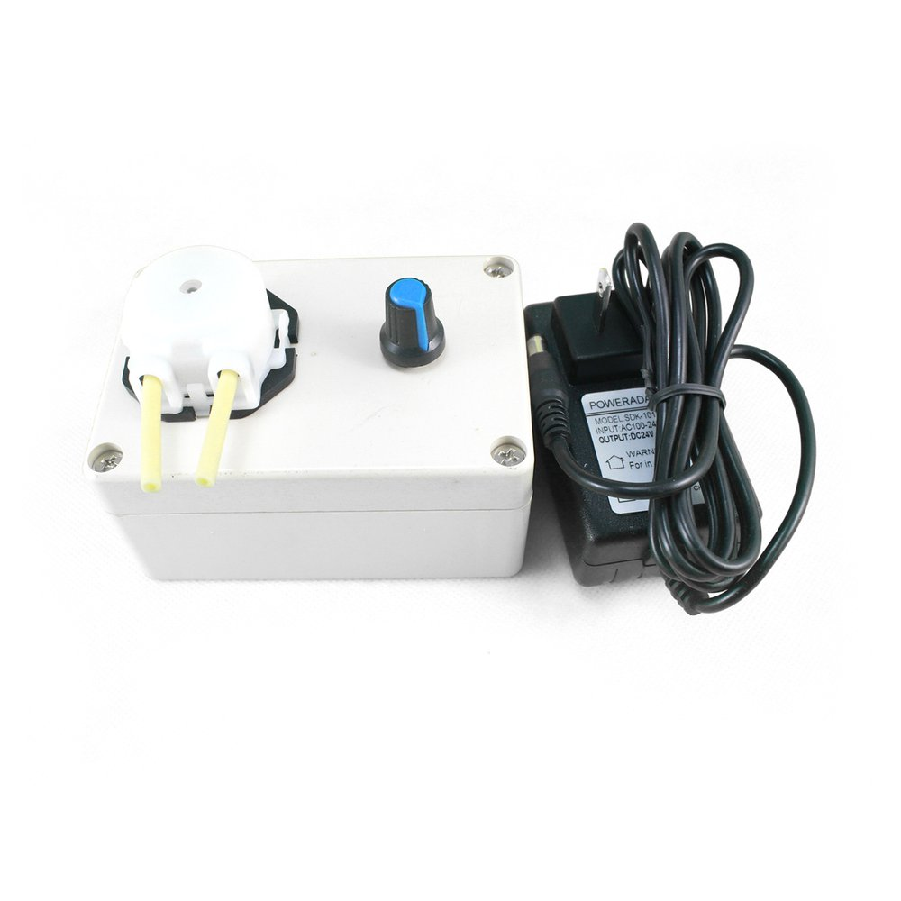 Romantisch Dc 12 V Dosierung Pumpe Einstellbare Fluss Rate Dc Motor Labor Mini Säure Dosierung Schlauch Pumpe Für Aquarium Lab