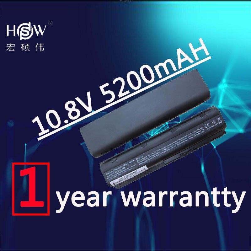 HSW 5200 mah 6 CELLULES NOUVELLES Batteries D'ordinateur Portable pour HP Pavilion G4 G6 G7 CQ42 CQ32 G42 CQ43 G32 DV6 DM4 430 Batteries 593553-001 MU06