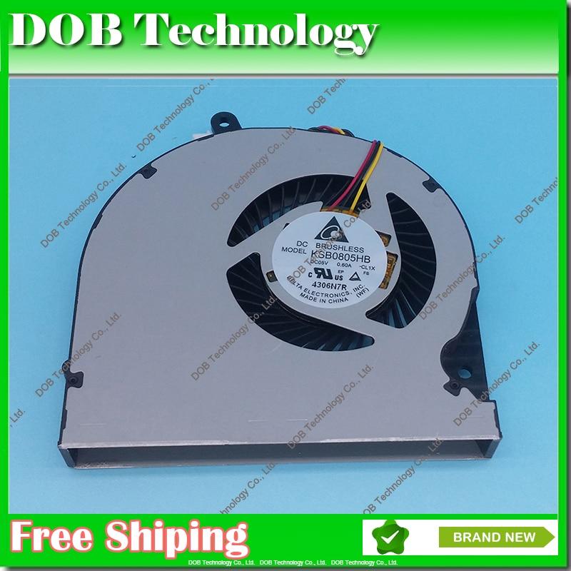 Ordinateur portable CPU cooling fan Pour Toshiba Satellite P50-AST2NX2 P50-AST3NX2 P50-AST3NX3 P50 S55 S50 S55t KSB0805HB CL1X