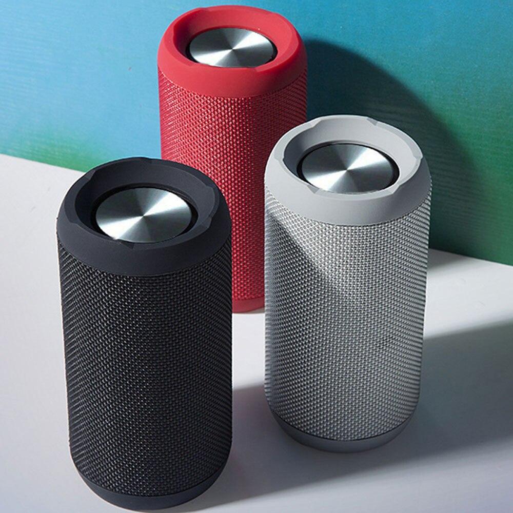 Haut-parleur Bluetooth IPX6 étanche Portable sans fil extérieur Mini colonne boîte haut-parleur Support pour carte TF FM stéréo Hi-Fi boîtes