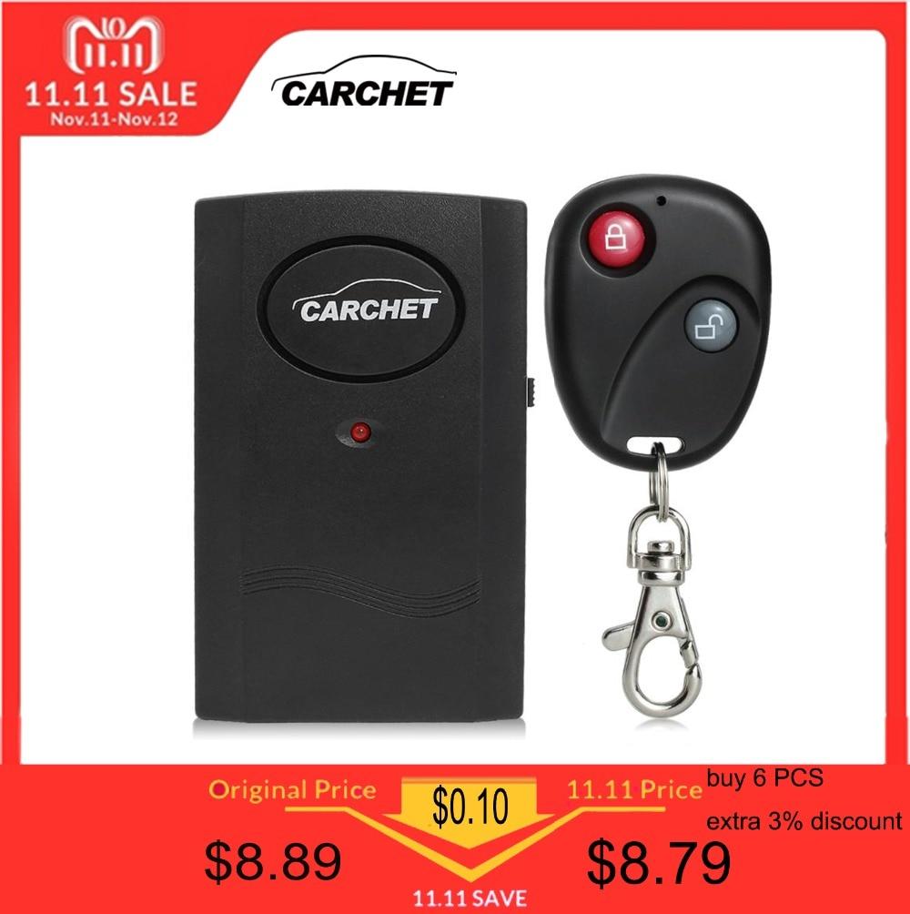 CARCHET Alarm für Motorrad Motorrad Roller Anti-diebstahl Alarm Security System Universal Wireless Remote 120db Versand von DE