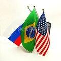 5 Peças Diferentes Países Pendurado Personalizar Bandeiras Bandeira de Poliéster Bandeira Bandeira de Combinação Jogo de Esportes de Futebol Bar Bandeira Nacional