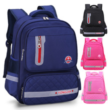 Litthing Waterproof Children School Bags For Girls Boys Kids Backpack Schoolbag Orthopedics Drop shipping 2019