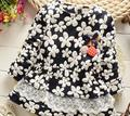 (1piece /lot) 100% cotton 2016 Cute flower Cherry baby outerwear (1-3 year old )