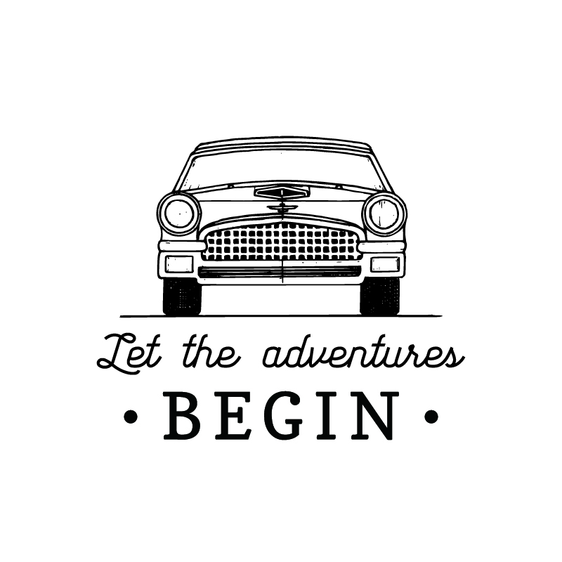 Tissbely Vintage Retro Automobile Logo Men T Shirts Let the ...