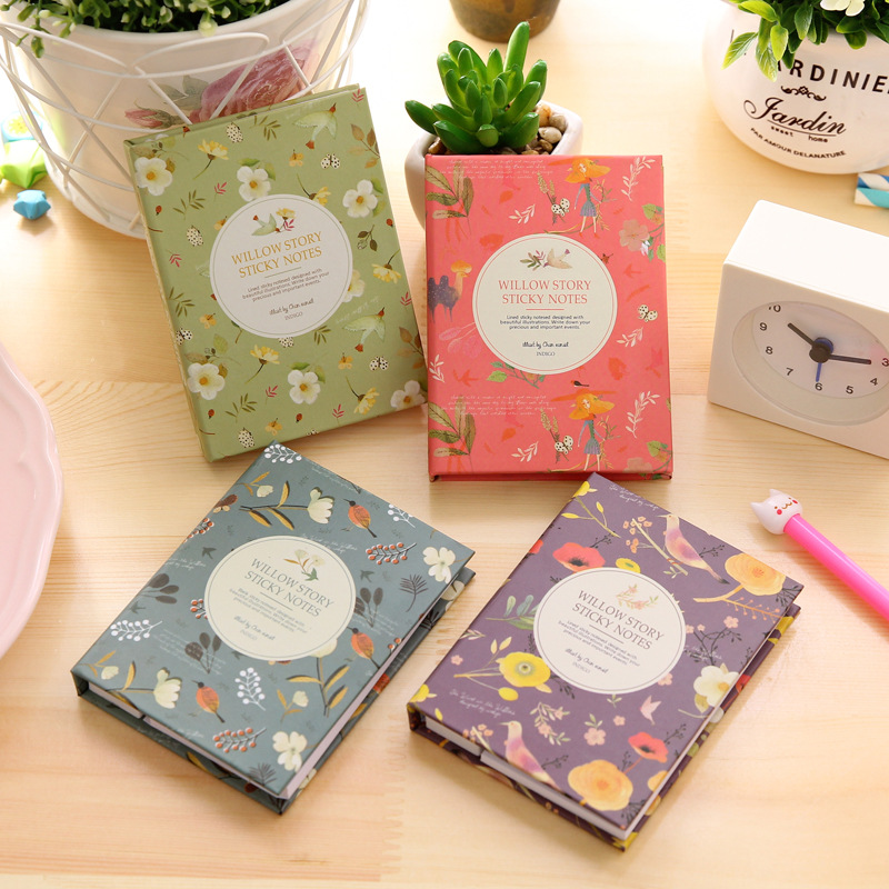 Cute Animal Painting Notepad Combination Sticky Notes N Times Posted Notepad / Memo Pads / Sticky Note /Label posted