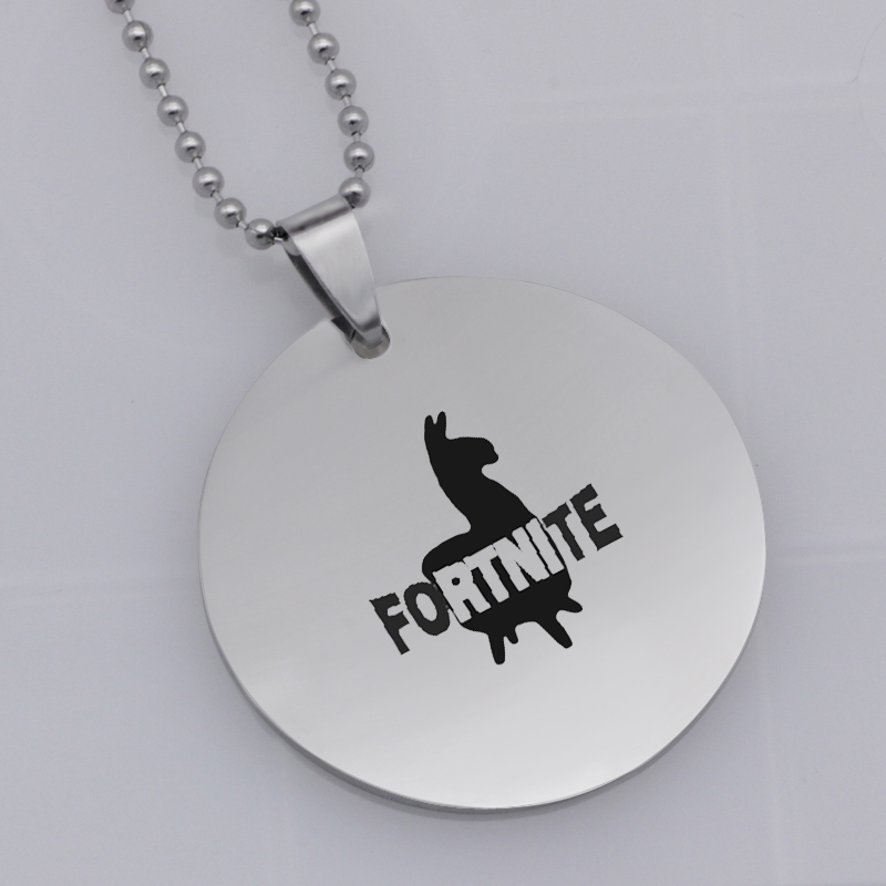 Ufine Hip Hop Classic FPS Game Fortnite Battle Royale pendant stainless steel jewelry necklace N487