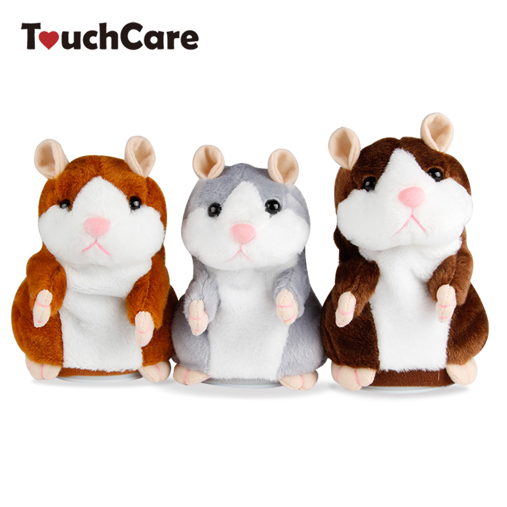 TouchCare Talking Hamster Mouse Pet Plush Toy Hot Cute Sound Record Hamster Interactive  ...