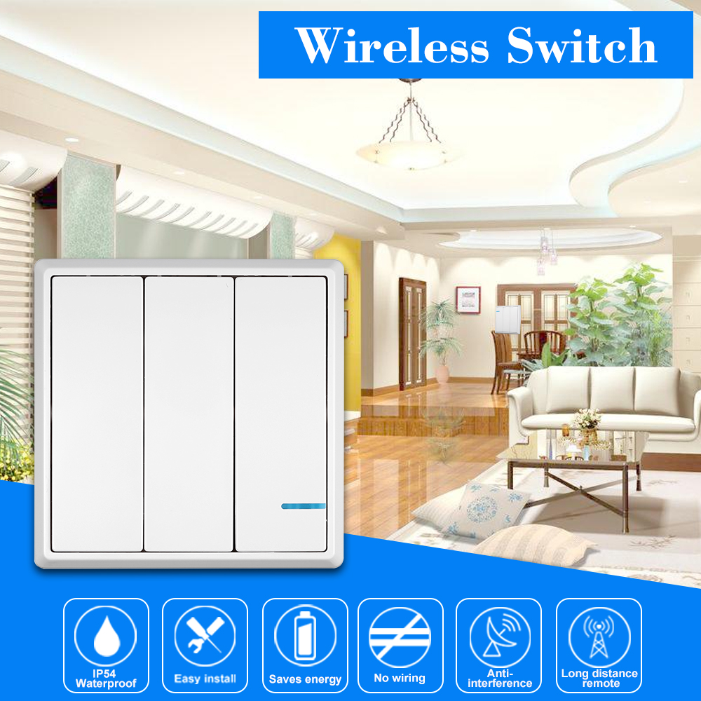 US $15.99 26% OFF|Smart Wireless Switch Transmitter Switch Receiver on