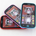 New 3D Talking cat Russian Language the Speaking toy repeats Kids Early Childhood Educational Electronic Interactive Tablet Toys