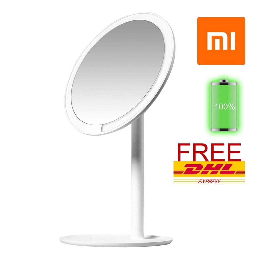 Xiaomi AMIRO Mini 6.5 pouce LED Miroir de Maquillage Éclairé w/Rechargeable Batterie