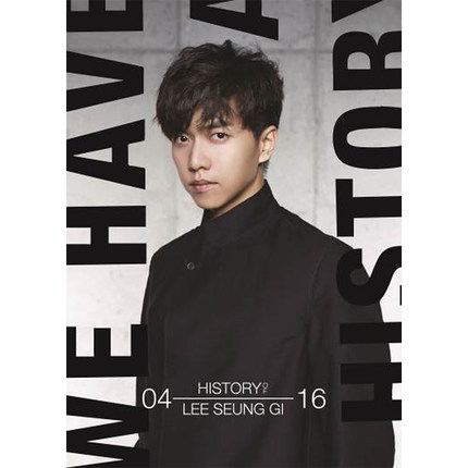 LEE SEUNG GI  autographed signed album THE HISTORY OF LEE SEUNG GI CD+photobook+signed poster presale 03.2017 the history of england volume 3 civil war
