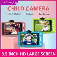 1080P HD мини милый Цифровой Детский фотоаппарат с цветным экраном детские игрушки видео рекордер видеокамера детская Polaroid камера