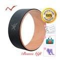 Колесо для йоги с складной удобной сумкой Пилатес магический круг кольцо для йоги дома Новогодние декоративные шарики оборудование